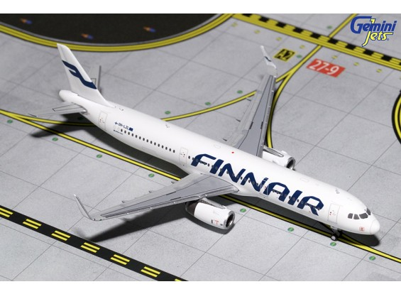 Gemini Jets Finnair Airbus A321-200 'Sharklets' OH-LZL 1:400 scal