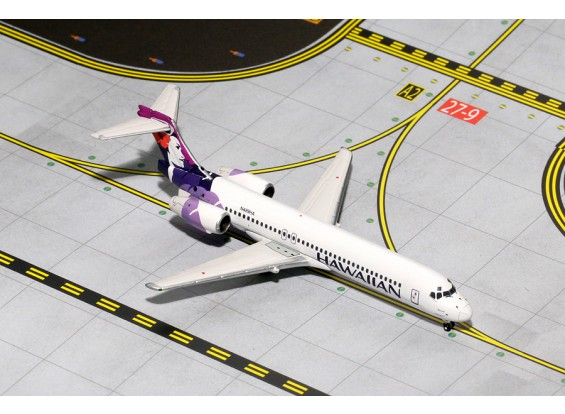 Gemini Jets Hawaiian Airlines Boeing 717-200 N489HA 1:400 Diecast Model GJHAL1532