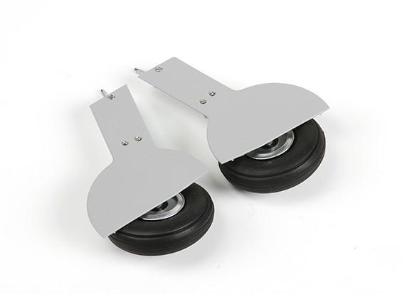 ETO (vert / gris) Spitfire set roue principale. couleurs ETO