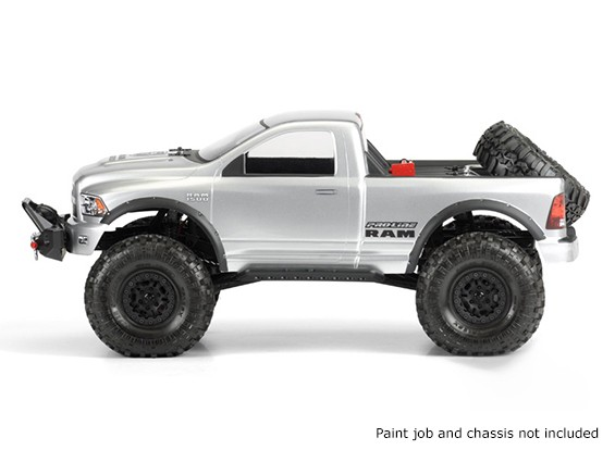 RAM 1500 Effacer corps pour 1:10 Crawlers Scale
