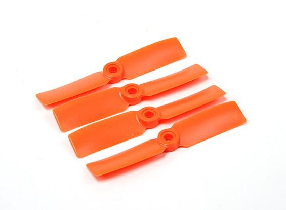 Diatone Bull Nose plastique Hélices 3545 (CW / CCW) (Orange) (2 paires)