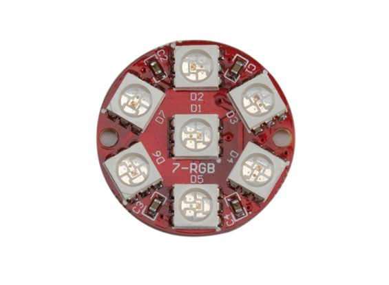 2812 7-Bit Full Color 5050 RGB LED Module