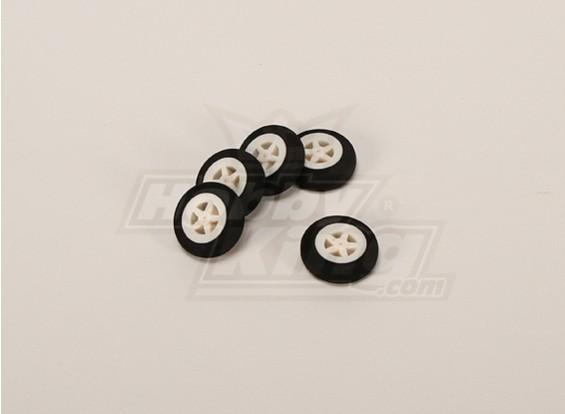 Mousse Wheel Light (Diam: 30, Largeur: 11mm) (5pcs / bag)