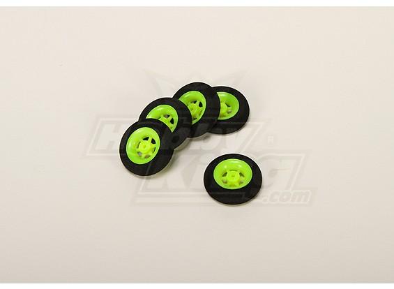 Super Light 5 Spoke D30x9mm de roue (5pcs / bag)
