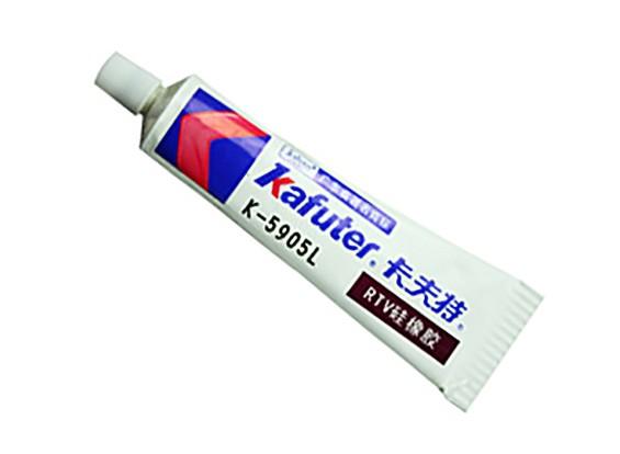 Colle silicone tansparent Kafuter K-705