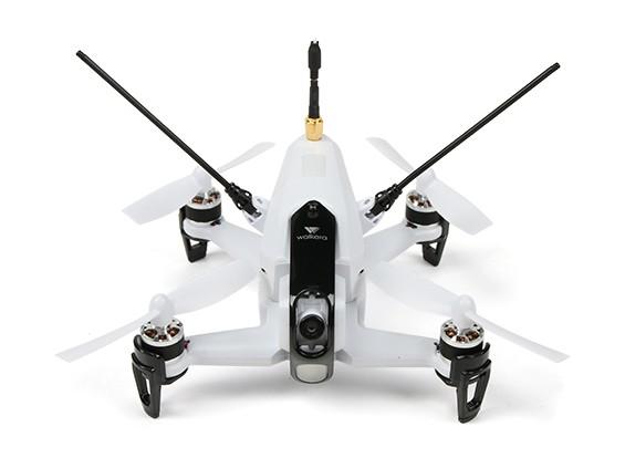 Rodeo 150 FPV course quad RTF (blanc) FCC - M2 DEVO7 100mW / US Plug