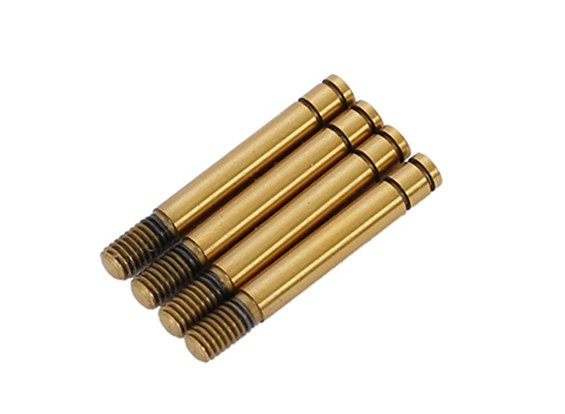 Ti-Coating Shock Shaft Long (4pcs)