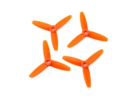 Gemfan Bullnose Polycarbonate 3035 3 Tranchante Hélice Orange (CW / CCW) (2 paires)