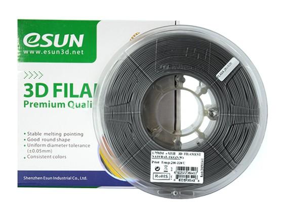 ESUN Imprimante 3D Filament 1.75mm naturel EAL-remplissage 1kg Spool