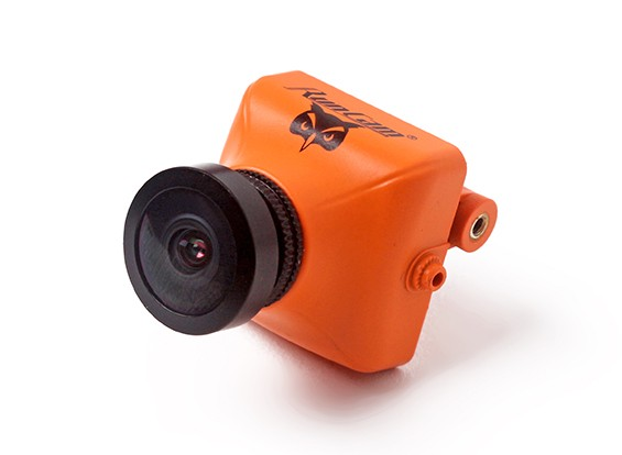 Caméra RunCam Hibou plus 700TVL Mini FPV - Orange (PAL Version)