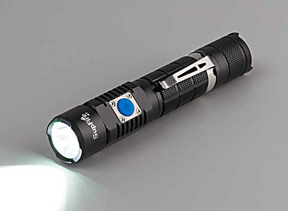 Deux interrupteur lampe de poche (câble du chargeur lampe de poche main Bracelet boîte blanche)