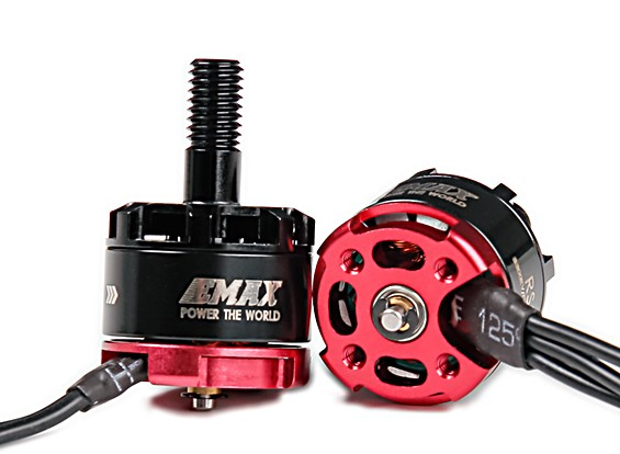 EMAX RS1306 Racespec Motor KV3300 CCW Rotation de l'arbre