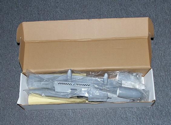SCRATCH / DENT Micro A-10 Jet Gris pour EDF 30mm x 2 (KIT)