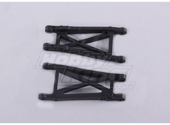 Susp.arm-L arrière / R 2 pièces - 118B, A2006, A2035 et A2023T