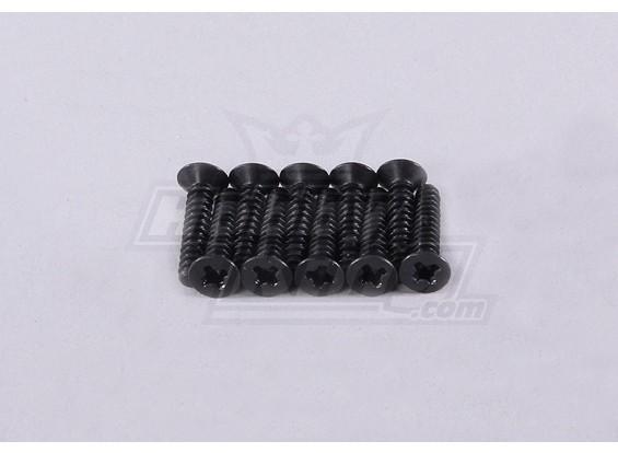 10 x 2 * 10mm fraisée Vis - 118B, A2006, A2035 et A2023T