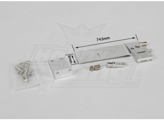 Rudder Set - Small (74.5mm)