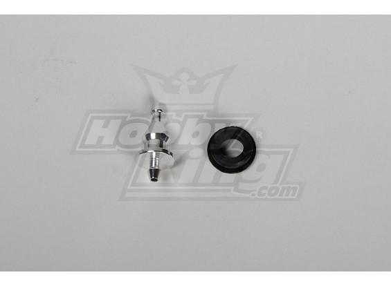 Nipple Metal w / Grommet pour tous RJX & Raptor Header Réservoir