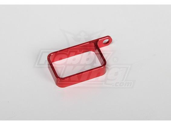 Porte en métal (Rouge)