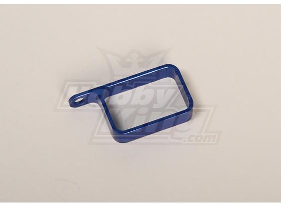 Porte en métal (Bleu)