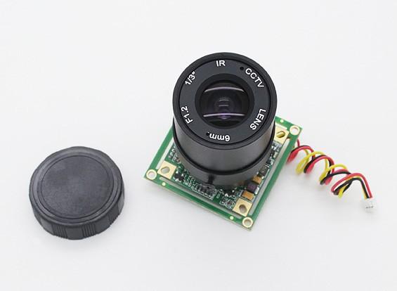3/1 pouces Sony CCD Caméra vidéo 700TV Lines F1.2 (PAL)