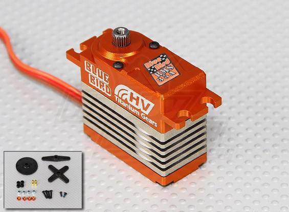 BMS-35A High Voltage (7.4V) Coreless Servo numérique w / alliage de titane vitesse 35,5 kg / .14sec / 74g