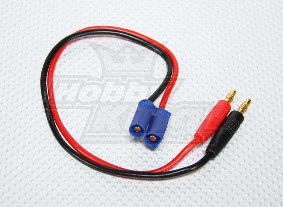 Charge EC5 14AWG plomb w / 4mm Plugs Banana