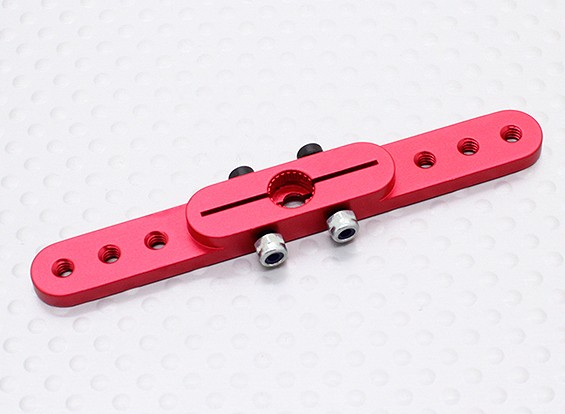 Lourd 2.5in Duty Alloy Pull-Pull Servo Arm - JR (Rouge)