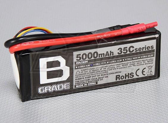 Batterie B-Grade 5000mAh 3S 35C Lipoly