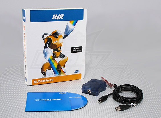 ATMEL AVRISP MKII USB ISP / PDI (Genuine)