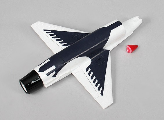 35mm EDF Micro Fighter Jet- remplacement Fuselage ensemble