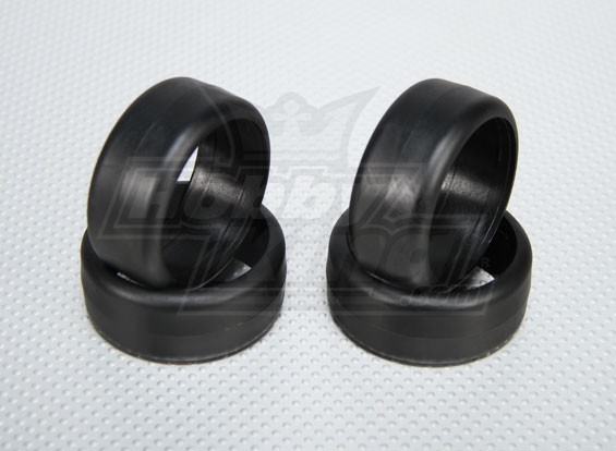 1:10 échelle en plastique dur Drift Tires pour RC 26mm de voitures (4pcs / set)