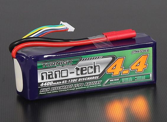 Turnigy nano-tech 4400mah 5S 65 ~ 130C Lipo Paquet