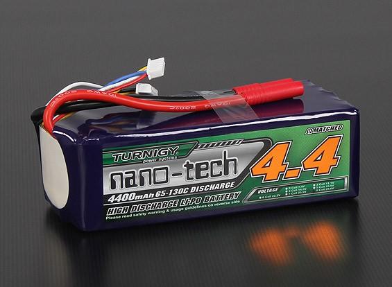 Turnigy nano-tech 4400mah 8S 65 ~ 130C Lipo Paquet