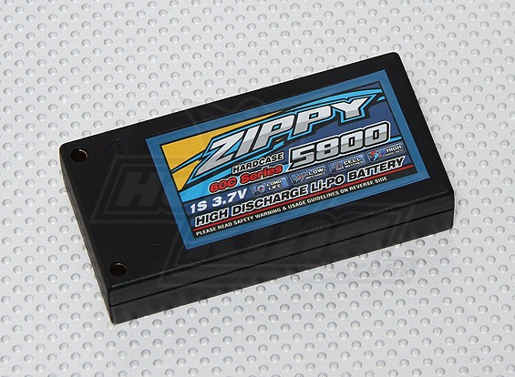 ZIPPY 5800mAh 1s2p 60C Hardcase Paquet