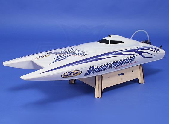 Super Surge Crusher 90A Twin-Hull Brushless R / C Bateau (730mm) (ARR)