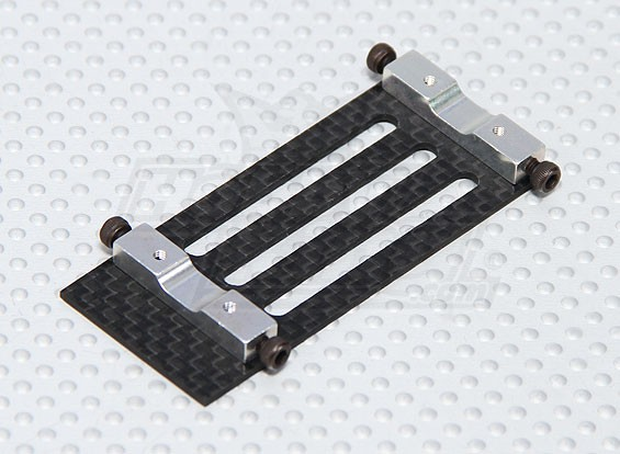 Carbon Fiber Battery Mount Trex / HK 450 PRO