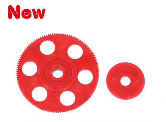 Gaui 100 & 200 High Performance rotation automatique principal Gear Set (sans paliers)