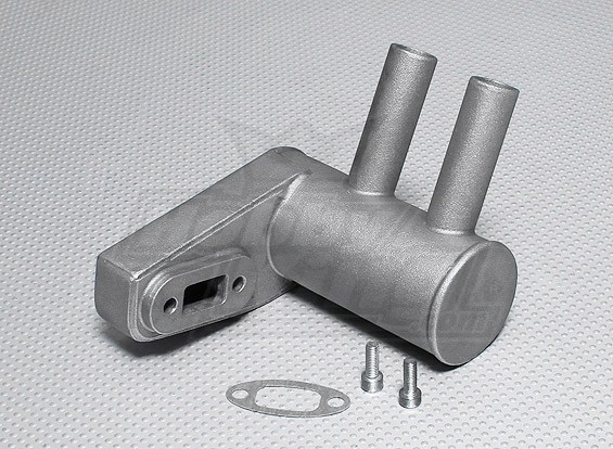 Pitts Muffler pour 30cc ~ Moteur à essence 33cc