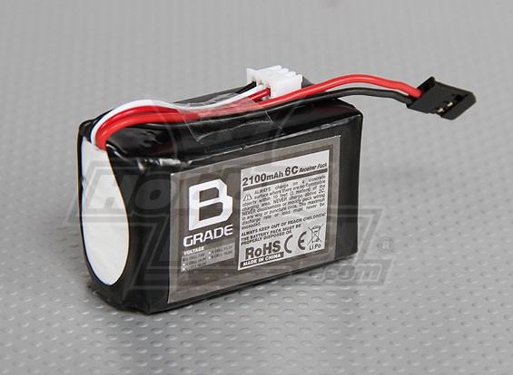 B-Grade 2100mAh 2S3P Receiver Paquet