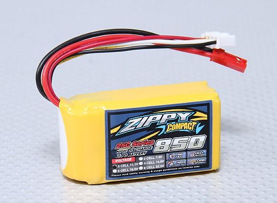 ZIPPY Compact 850mAh 3S 25C Lipo Paquet