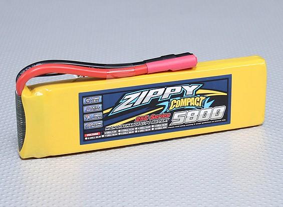 ZIPPY Compact 5800mAh 2S 25C Lipo Paquet