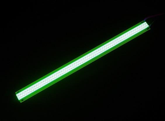 Strip Alloy LED verte 5W 150mm x 12mm (3s Compatible)