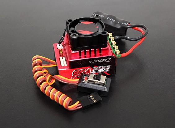 Turnigy Trackstar 80A Turbo Sensored Brushless 1 / 12e 1 / 10ème ESC (RAAR approuvé)