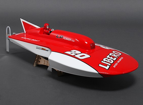Racing Libero High Speed ​​Boat ARR w / Moteur (675mm)
