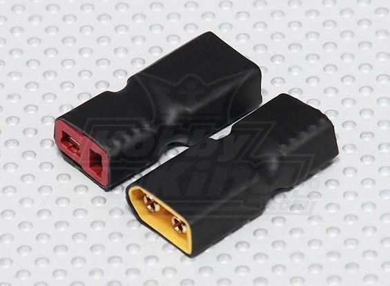 XT60 à T-connecteur de l'adaptateur de batterie (2pc)