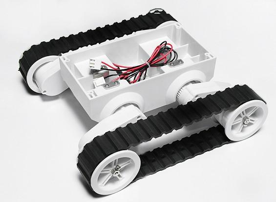 Rover 5 à Chenilles Robot Châssis sans codeur