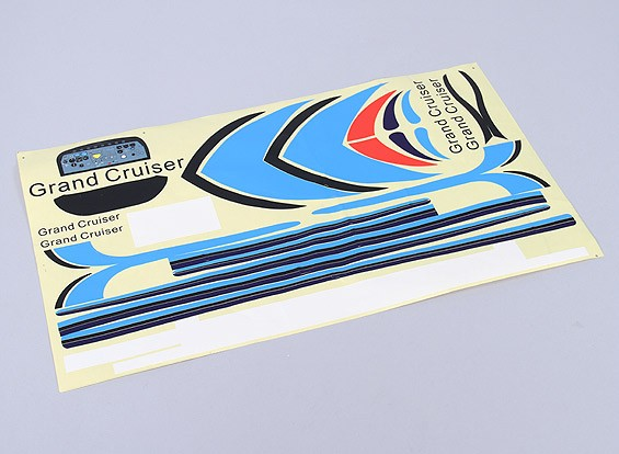 Durafly ™ 310 avions civils 1100mm remplacement Decal