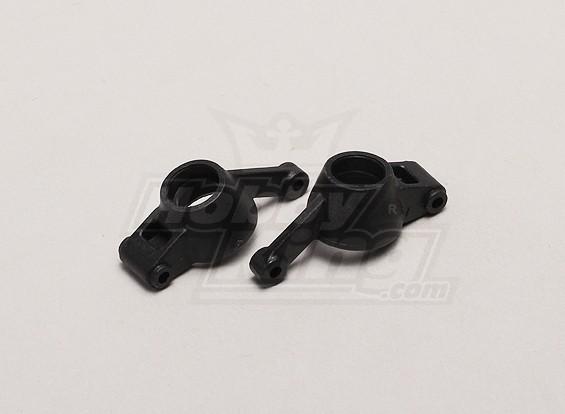 Arrière de moyeu de roue gauche / droite (2pcs / sac) - 1/18 4WD RTR Short Course / Racing Buggy