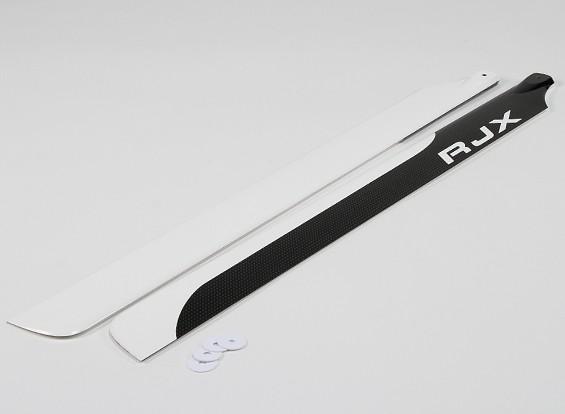 600mm de haute qualité en fibre de carbone principal Lames