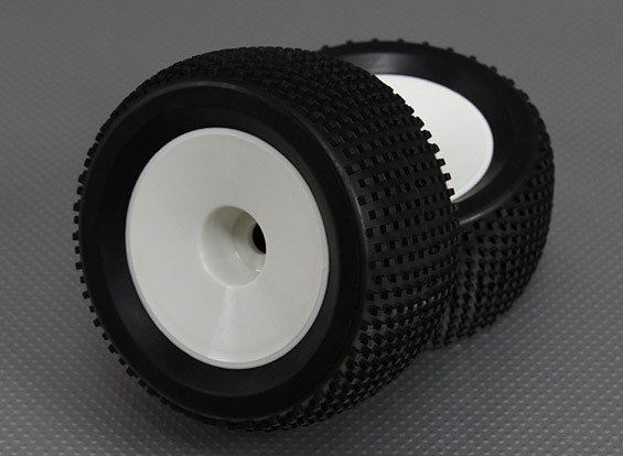 1/8 Buggy 3.4 (offset) Roue / 17mm Tire Hex (2pcs / sac)